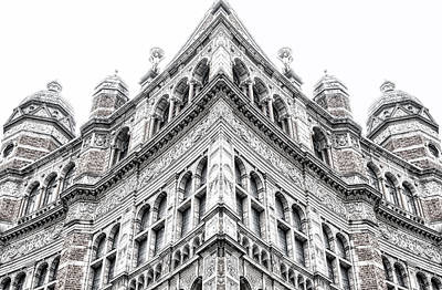 Abstract Digital Photograph - London Building by Tom Gowanlock