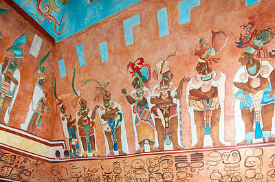 Digital Art - Mayan Museum In Chetumal by Carol Ailles
