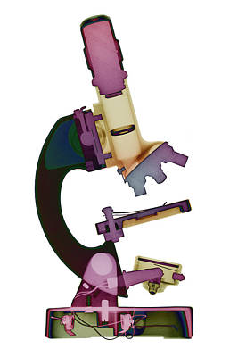 Photograph - Microscope X-ray Art Photograph by Roy Livingston