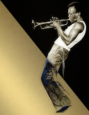 Miles Davis Collection Art Print