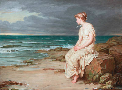 Painting - Miranda  by John William Waterhouse