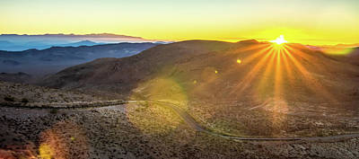 Firefighter Patents Royalty Free Images - Morning Sunrise Over Death Valley National Park Royalty-Free Image by Alex Grichenko