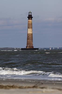 Folly Photograph - Morris Island Lighthouse by Dustin K Ryan