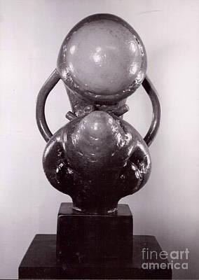 Sculpture - Mother/child IIi by Robert F Battles