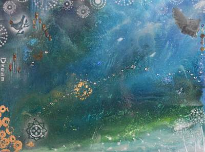 Mixed Media - Dream by MiMi  Stirn