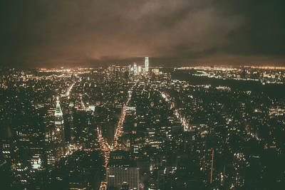 Abstract Skyline Rights Managed Images - New York Skyline Royalty-Free Image by Martin Newman