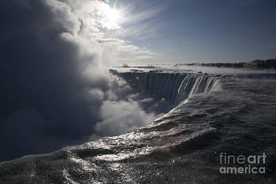 Photograph - Niagara Falls by Jim West