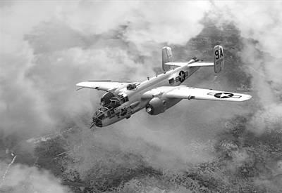 North American B-25j 9a Art Print
