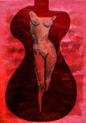 Nude Woman Art Print