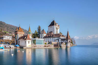Oberhofen - Switzerland Art Print