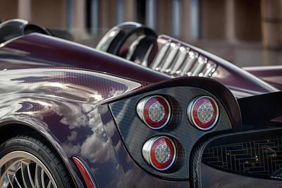 Photograph - #pagani #huayra #roadster #print by ItzKirb Photography