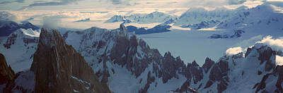 Craggy Photograph - Panoramic Aerial View At 3400 Meters by Panoramic Images