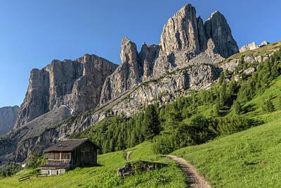 Tyrol Wall Art - Photograph - Passo Gardena - Dolomiti by Joana Kruse