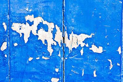 Peeling Paint Art Print by Tom Gowanlock