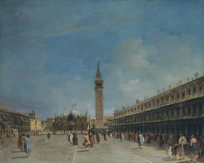 Painting - Piazza San Marco by Treasury Classics Art