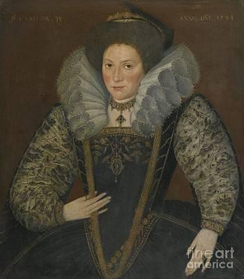 Portrait Of A Lady Art Print
