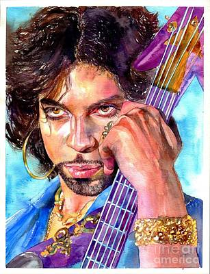 Amazing Painting - Prince Rogers Nelson Portrait by Suzann's Art