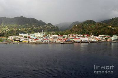 Photograph - Roseau Dominica by Gary Wonning