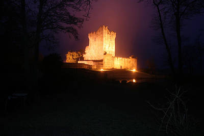 Irish Castle Photograph - Ross Castle by John Quinn