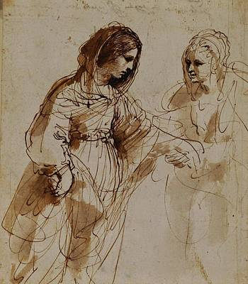 Guercino Painting - Royal Guercino by MotionAge Designs