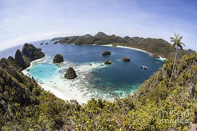 Rugged Limestone Islands Surround Art Print by Ethan Daniels