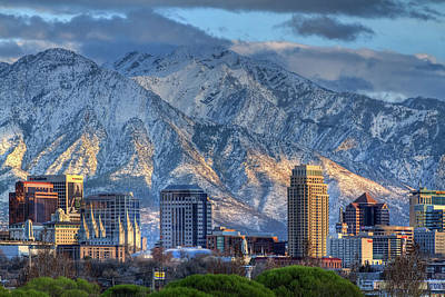 Photograph - Salt Lake City Utah Usa by Utah Images
