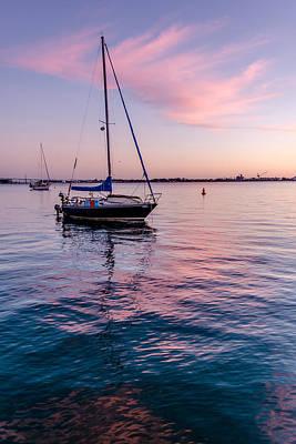 Whalen Photograph - San Diego Bay Sunset Series by Josh Whalen