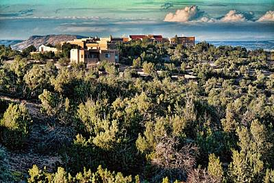 Photograph - Santa Fe New Mexico by Diana Mary Sharpton