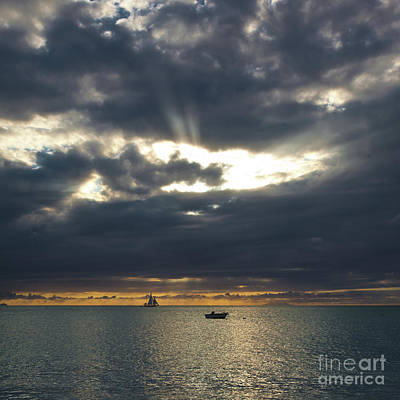 Photograph - Sea And Clouds by Avril Christophe