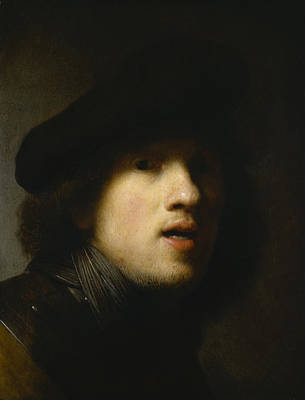 Painting - Self-portrait by Rembrandt