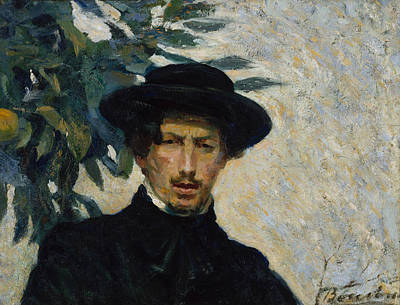 Painting - Self-portrait by Umberto Boccioni