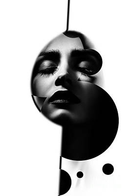 Sensual Woman Art Print