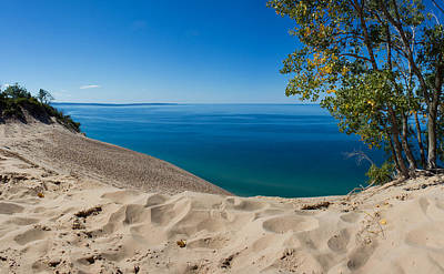 Summertime Photograph - Sleeping Bear Dunes by Twenty Two North Photography