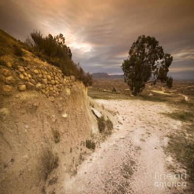 Spanish Landscape Art Print by Angel  Tarantella