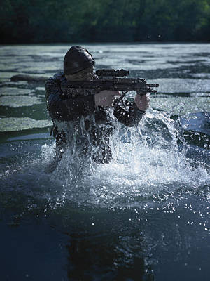 Olympic Sports - Special Operations Forces Soldier by Tom Weber