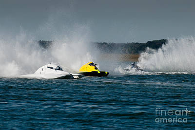 Sports Royalty-Free and Rights-Managed Images - Speed boats at Wildwood Crest HydroFest - New Jersey by Anthony Totah