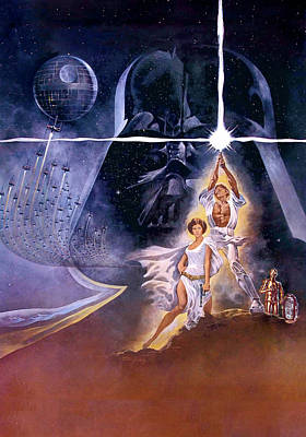 Chewbacca Digital Art - Star Wars Episode Iv - A New Hope 1977 by Unknow