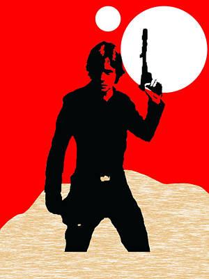 Movie Stars Mixed Media - Star Wars Luke Skywalker Collection by Marvin Blaine