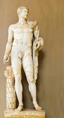 Photograph - Statue In Vatican Museum. by Marek Poplawski