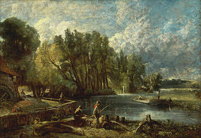 Stratford Painting - Stratford Mill by John Constable