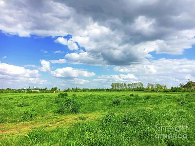 Photograph - Suffolk Rural Scene by Tom Gowanlock