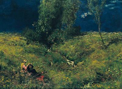 Painting - Summer by Treasury Classics Art