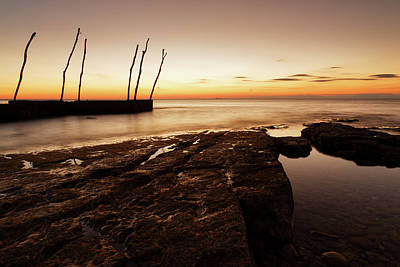 Photograph - Sunset At Basanija by Ian Middleton