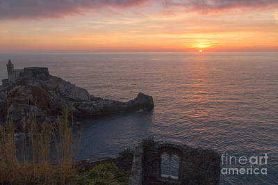 Photograph - Sunset In Portovenere by Pietro Ebner