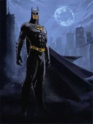 Batman Digital Art - Superman And Batman by Egor Vysockiy