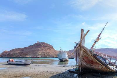 Dhow Photograph - Sur - Oman by Joana Kruse