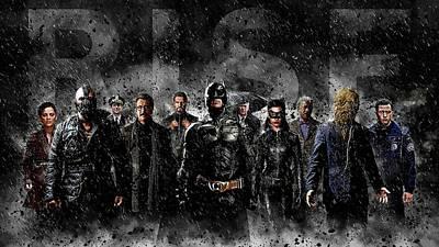 The Batman Dark Knight Print by Egor Vysockiy
