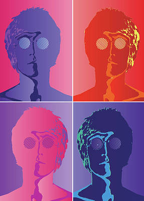 Digital Art - The Beatles by Caio Caldas