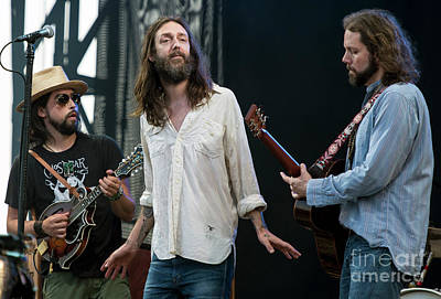 The Black Crowes Print by David Oppenheimer