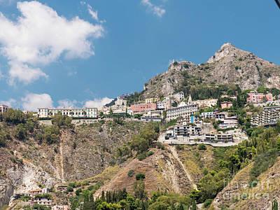 Photograph - The Coast Near Taormina by Rod Jones
